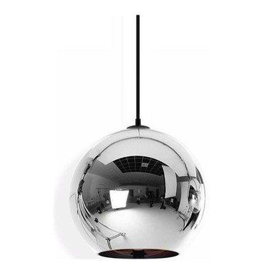 Светильник Copper Сhrome Shade D45 от дизайнера Tom Dixon