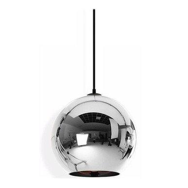 Светильник Copper Сhrome Shade D40 от дизайнера Tom Dixon