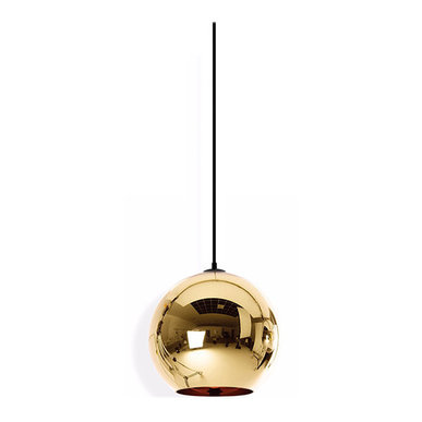 Светильник Copper Bronze Shade D20 от дизайнера Tom Dixon