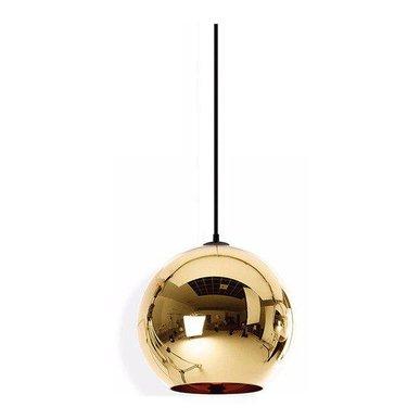 Светильник Copper Bronze Shade D30 от дизайнера Tom Dixon