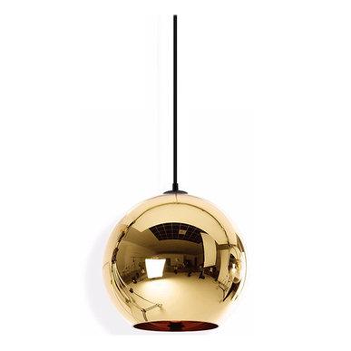 Светильник Copper Bronze Shade D35 от дизайнера Tom Dixon