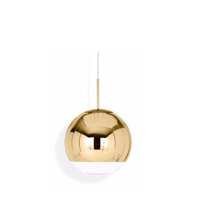 Светильник Mirror Ball Gold D15 от дизайнера Tom Dixon