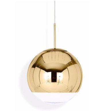 Светильник Mirror Ball Gold D25 от дизайнера Tom Dixon