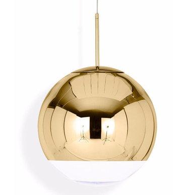 Светильник Mirror Ball Gold D35 от дизайнера Tom Dixon