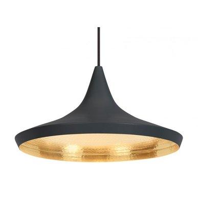 Светильник Beat Light Wide Black от дизайнера Tom Dixon