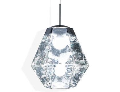 Светильник Cut Tall Pendant Chrome от дизайнера Tom Dixon