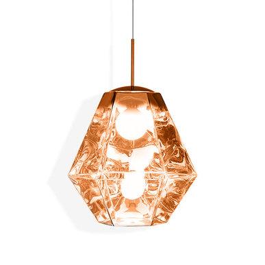Светильник Cut Tall Pendant Copper от дизайнера Tom Dixon