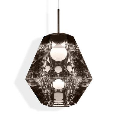 Светильник Cut Tall Pendant Coffe от дизайнера Tom Dixon