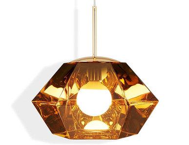 Светильник Cut Short Pendant Gold от дизайнера Tom Dixon