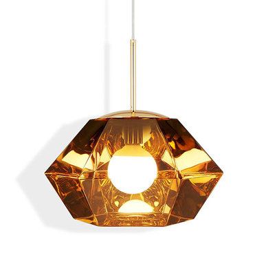 Светильник Cut Short Pendant Gold от дизайнера Tom Dixon