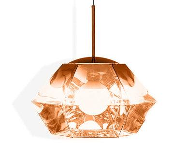 Светильник Cut Short Pendant Copper от дизайнера Tom Dixon