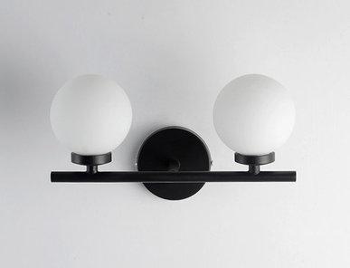 Бра Bubble Stik 2 Black от дизайнера Tom Dixon