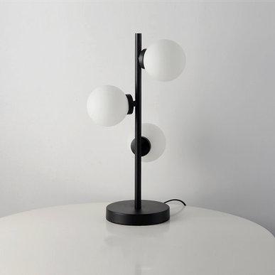 Настольная лампа Bubble Stik Black от дизайнера Tom Dixon