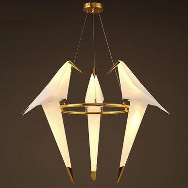 Люстра Perch Light Branch Round Trio от дизайнера Umut Yamac