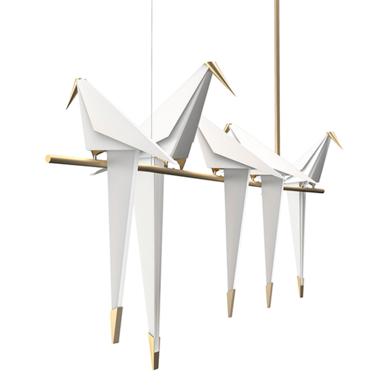 Люстра Perch Light Branch Line 5 от дизайнера Umut Yamac