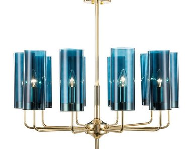 Люстра Glass Tube Chandelier 10 от дизайнера Hans-Agne Jakobsson