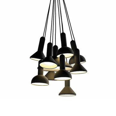 Люстра Torch Bunch 10 от дизайнера Sylvain Willenz