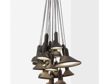 Люстра Torch Bunch 20 от дизайнера Sylvain Willenz
