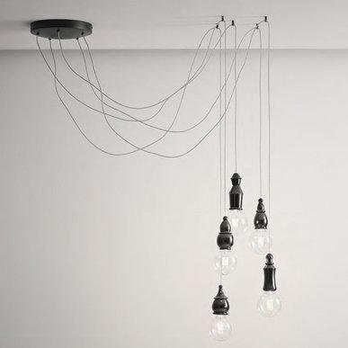 Подвесной светильник Fate Round фабрики Aldo Bernardi