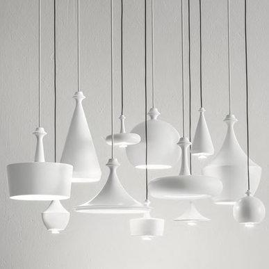 Подвесные светильники Lustrini фабрики Aldo Bernardi