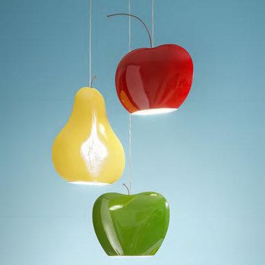Подвесные светильники Fruits фабрики Aldo Bernardi