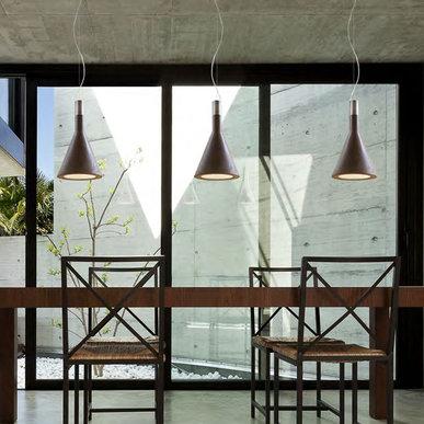 Подвесные светильники Funnel фабрики Aldo Bernardi
