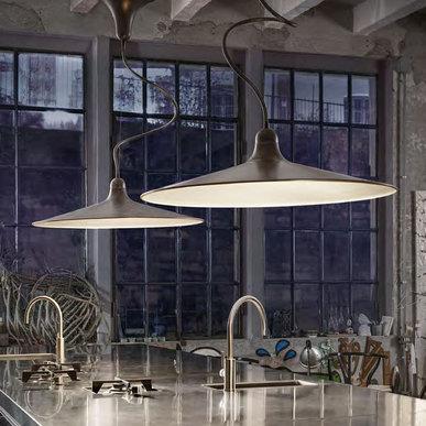 Подвесной светильник Sassmaòr SAS2/F фабрики Aldo Bernardi