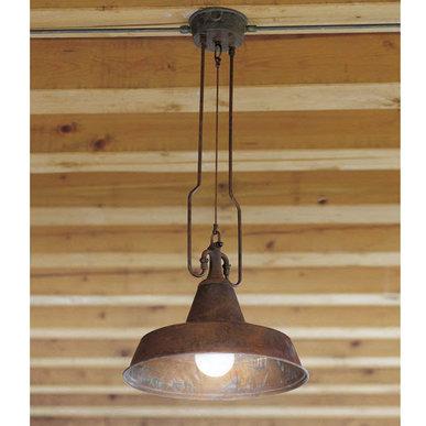 Подвесной светильник Fonderia фабрики Aldo Bernardi