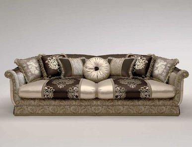 Итальянский 3-х местный диван CARLOS фабрики BRUNO ZAMPA