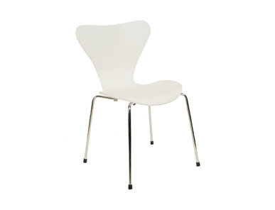 Стул Style Series 7 Chair белый клен от дизайнера Arne Jacobsen