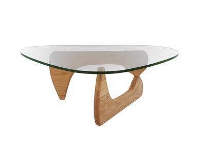 Стол журнальный Coffee Table орех от дизайнера ISAMU NOGUCHI