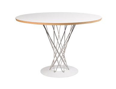 Стол Cyclone Table белый от дизайнера ISAMU NOGUCHI