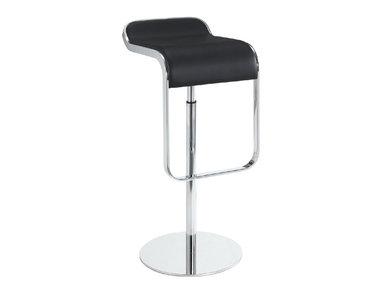 Барный стул LEM Style Piston Stool черная кожа от дизайнера SHIN AND TOMOKO AZUMI