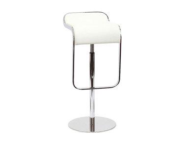 Барный стул LEM Style Piston Stool белая кожа от дизайнера SHIN AND TOMOKO AZUMI