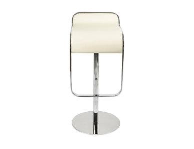 Барный стул LEM Style Piston Stool кремовая кожа от дизайнера SHIN AND TOMOKO AZUMI