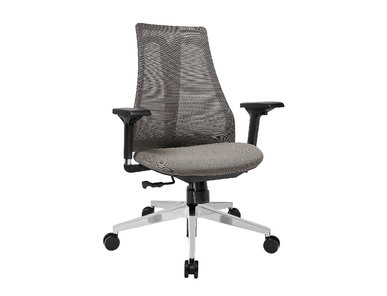 Офисное кресло Air-Chair черный пластик , хром. база от студии дизайна BARTOLI DESIGN