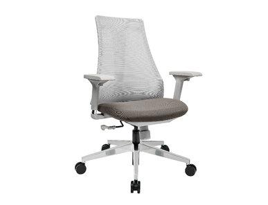 Офисное кресло Air-Chair серый пластик, хром. база от студии дизайна BARTOLI DESIGN