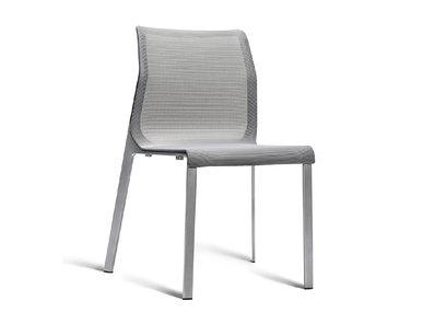 Кресло Pegus без подлокотников серое от студии дизайна BARTOLI DESIGN