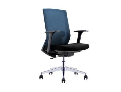 Офисное кресло для персонала Genova темно-синяя сетка от дизайнера NIKE AO