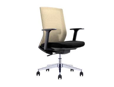 Офисное кресло для персонала Genova бежевая сетка от дизайнера NIKE AO