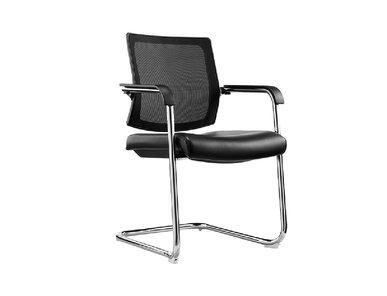 Кресло для посетителей Sling черная ткань/сетка от дизайнера NIKE AO