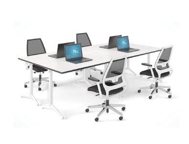 Офисный стол для сотрудников Secret от дизайнерской студии Profoffice