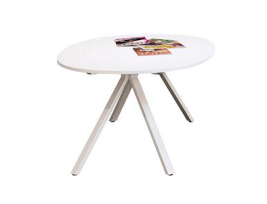 Стол Astro овальный белый 180 см от дизайнерской студии Profoffice