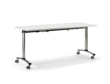 Складной стол Flip белый от дизайнерской студии Profoffice