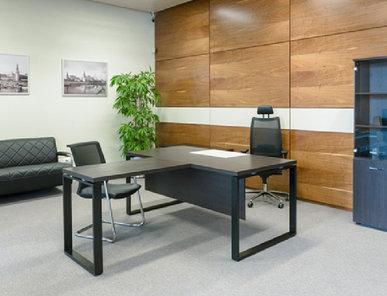 Стол руководителя Rotonda 180 венге (без передней панели) от дизайнерской студии Profoffice