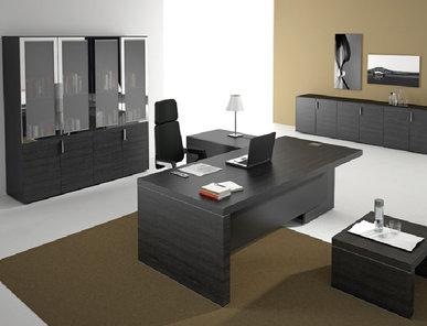 Стол Titano с системой хранения от дизайнерской студии Profoffice