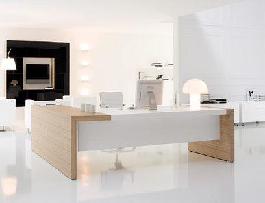 Стол руководителя Martex Kyo Орех от дизайнерской студии Profoffice