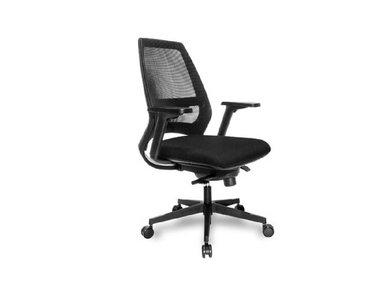 Офисное кресло 4U mesh сетка черное от дизайнерской студии Profoffice