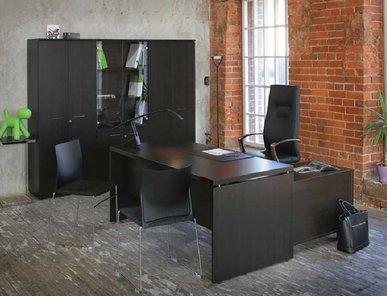 Стол руководителя FERMO WOOD L180 + приставка от дизайнерской студии Profoffice