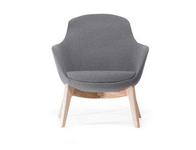 Кресло Elegance S Wood L14 Muse от дизайнерской студии Profoffice